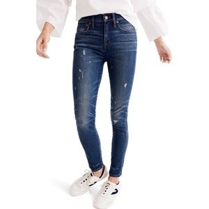 """Madewell Women's 9"""" High Rise Skinny Jeans Size 32"""
